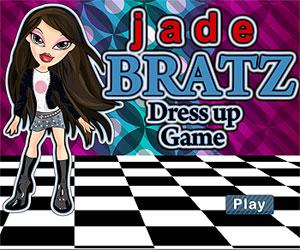Игры куклы Братц (Bratz games: Одень в красивый наряд Джейд