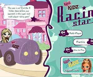 Игры куклы Братц (Bratz games: Братц - гоночные звездочки