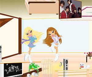 Игры куклы Братц (Bratz games: Наведи порядок в комнате Братц для девочек