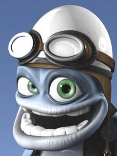 Знаменитая сумасшедшая лягушка crazy