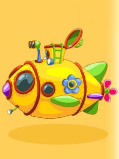 Желтая субмарина смешариков