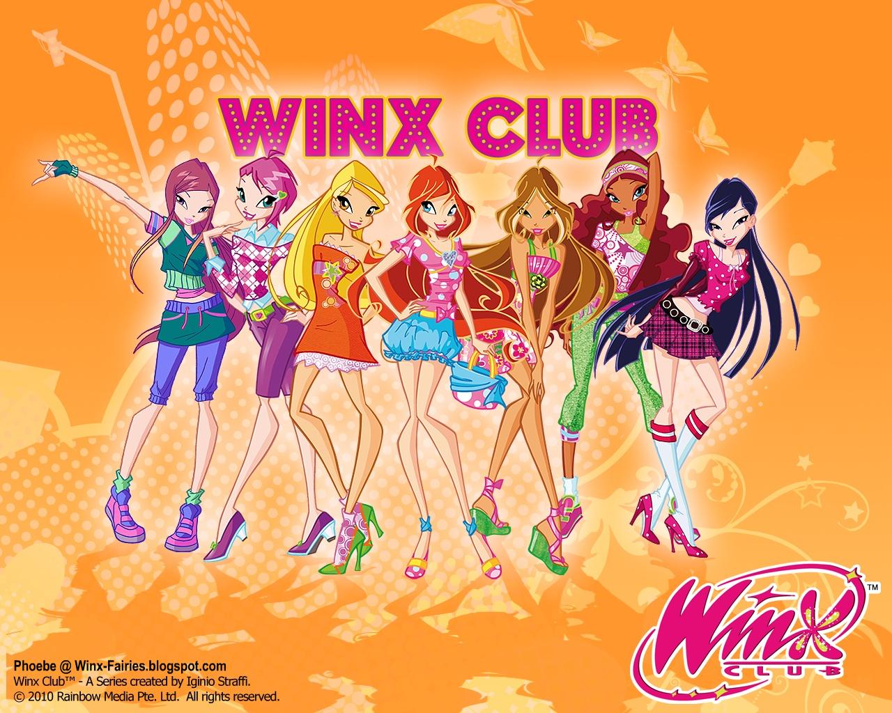 Винкс клуб обои для рабочего стола и