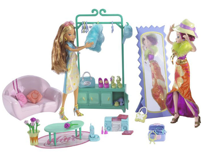 Разнообразные игрушки и Вещи на тему Винкс / Winx Club