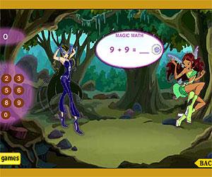Игры Винкс Клуб (Winx Club - игры для девочек: Волшебная математика фей