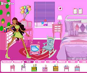 Игры Винкс Клуб (Winx Club - игры для девочек: Обставим комнату Лейлы